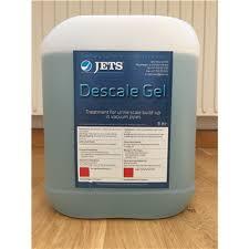 Avloppsrengöring med jets descale gel