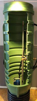 pumpbrunn green line 600 E